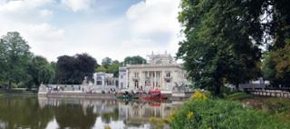 Pałac Na Wyspie łazienki Królewskie Viega